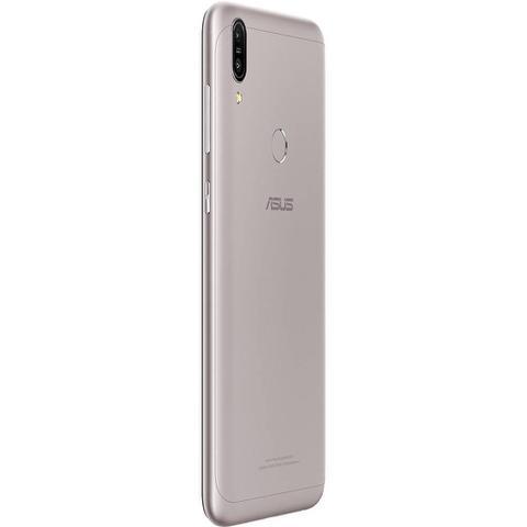 Imagem de Smartphone Asus Zenfone Max Pro (M1) 32GB Dual Chip Tela 6 Qualcomm Snapdragon SDM636 4G Câmera 13 + 5MP (Dual Traseira) - Prata