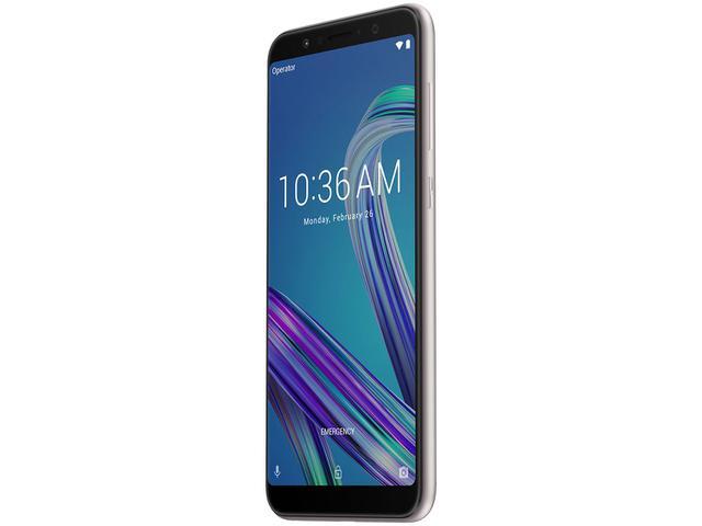 Imagem de Smartphone Asus ZenFone Max Pro (M1) 32GB Prata 4G