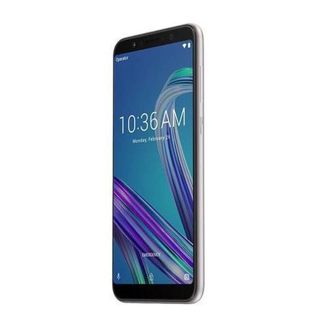 Imagem de Smartphone Asus Zenfone Max Pro M1 64GB/4GB, Octa-Core, Tela 6.0 Pol. + Câmera Dual 16MP+5MP - Prata