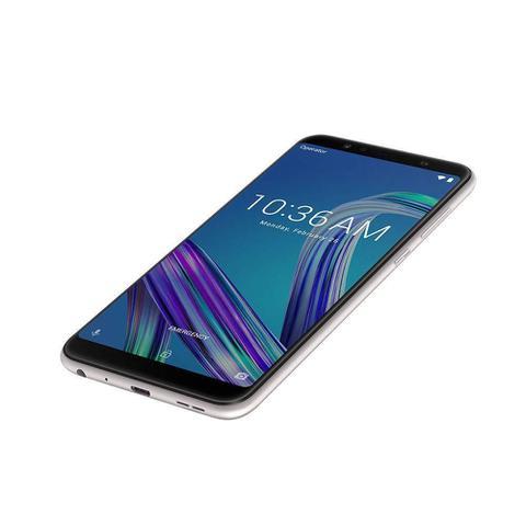 Imagem de Smartphone Asus Zenfone Max PRO M1, 64GB, Android Oreo, Dual chip, 16MP, 6.0'', 64GB, 4G - Prata