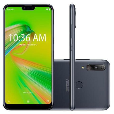 Imagem de Smartphone Asus Zenfone Max Shot, 64GB, 12MP, Tela 6.2 Pol., Câmera Tripla, Preto - ZB634KL-4A006BR