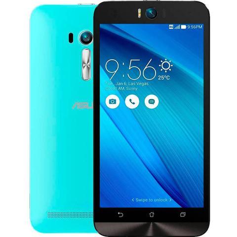 Imagem de Smartphone Asus Zenfone Selfie, Azul, ZD551KL, Tela de 5.5