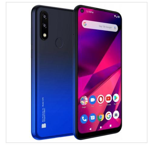 Celular Smartphone Blu G70 32gb Azul - Dual Chip