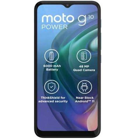 Celular Smartphone Motorola Moto G10 Power 64gb Cinza - Dual Chip