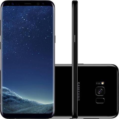 Imagem de Smartphone Desbloqueado Samsung Galaxy S8 Preto 64GB Dual Chip, Tela 5.8