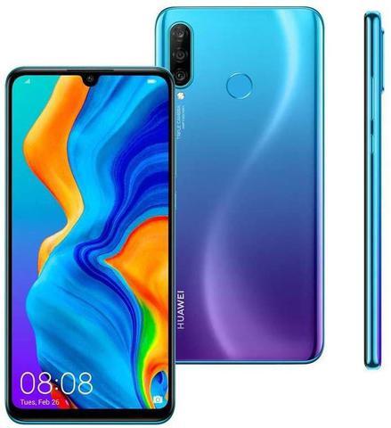 Celular Smartphone Huawei P30 Lite 128gb Azul - Dual Chip