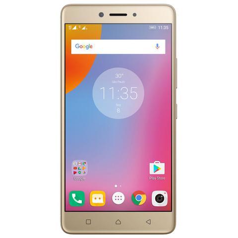 Imagem de Smartphone Lenovo Vibe K6 Plus, 32GB, Dual Chip, 16MP, 4G, Dourado - K53B36