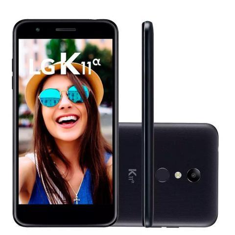 Imagem de Smartphone LG K11+ 32GB Dual Chip Tela 5.3 Câmera 13MP Android 7.1.2 Preto