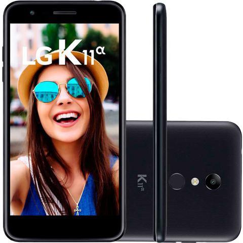 Imagem de Smartphone LG K11 Alpha 16GB Dual Chip Tela 5.3 Câmera 8MP Frontal 5MP Android 7.1 Preto