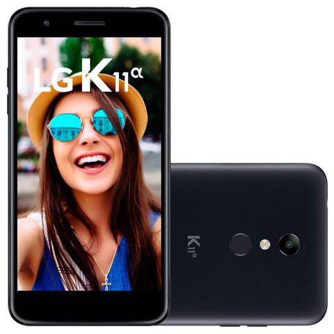 Imagem de Smartphone LG K11 Alpha, Dual Chip, 16GB + Micro SD 16GB, Preto - LMX410