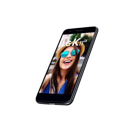 Imagem de Smartphone LG K11 Alpha, Dual Chip, Tela 5.3, 4G, WiFi, Android 7.1, 8MP, 16GB - Preto