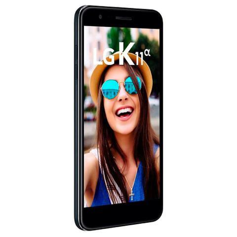 Imagem de Smartphone LG K11 ALPHA, Preto, LMX410BTW , Tela de 5.3