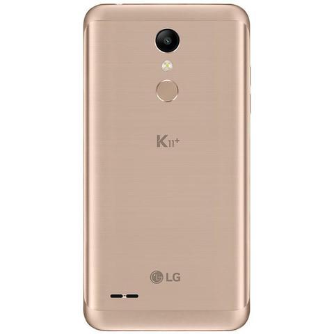 Imagem de Smartphone LG K11+ Dourado 32GB, Resistente à Impactos, Dual Chip, Tela de 5.3