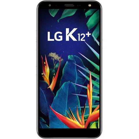 Imagem de Smartphone LG K12+ 32GB 3GB Tela 5.7 Octa Core 2.0 Ghz Câmera Traseira 16MP - Platinum