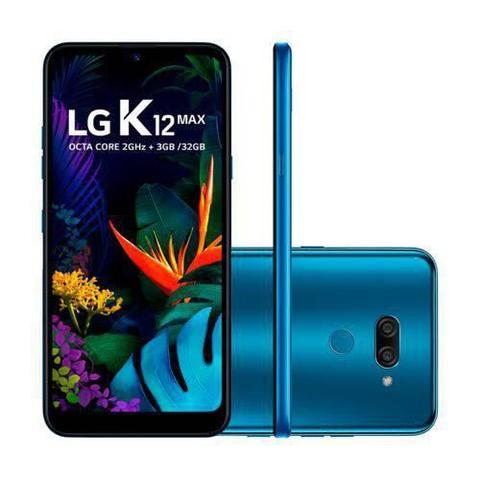 Imagem de Smartphone LG K12 Max 32GB Dual Chip Tela 6,2 Câmera Dupla 13MP + F2.0 - Azul