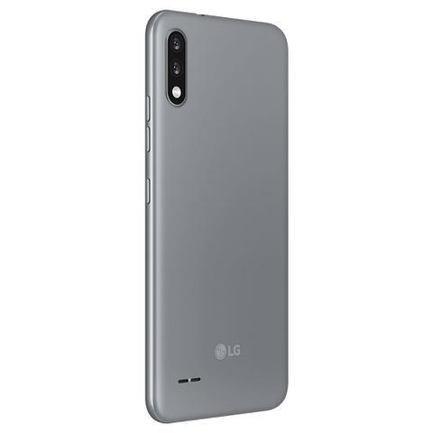 "Imagem de Smartphone LG K22 32GB 2GB RAM Câmera Dupla 13MP + 2MP Frontal 5MP Tela 6,2"" Android 10 - Titan"