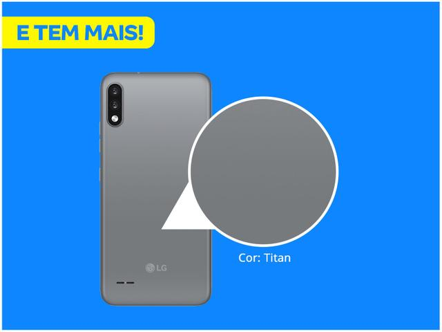 Imagem de Smartphone LG K22+ 64GB Titan 4G Quad-Core 3GB RAM