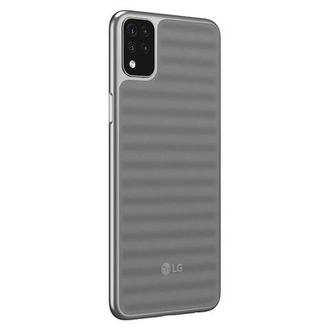 """Imagem de Smartphone LG K52 64GB 3GB RAM, Câmera Quadrupla 13MP+5MP+2MP+2MP Frontal 8MP Tela 6,6"""" - Cinza"""