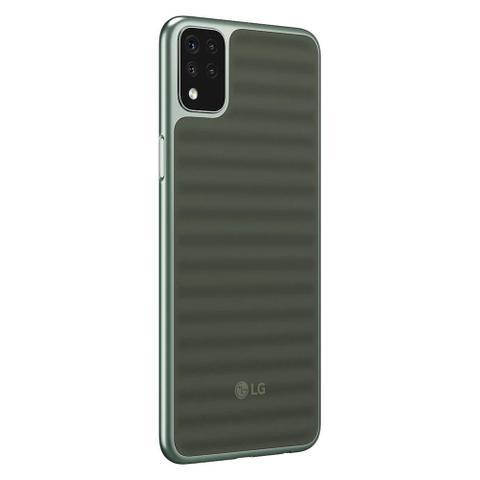 """Imagem de Smartphone LG K52 64GB 3GB RAM, Câmera Quadrupla + Frontal 8MP Tela 6,6"""" - Verde"""