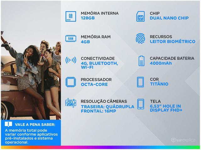 Imagem de Smartphone LG K61 128GB Titânio 4G Octa-Core