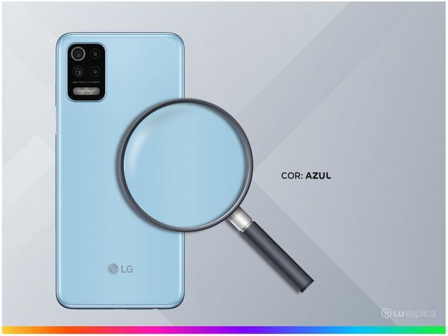 Imagem de Smartphone LG K62+ 128GB Azul 4G Octa-Core 4GB RAM
