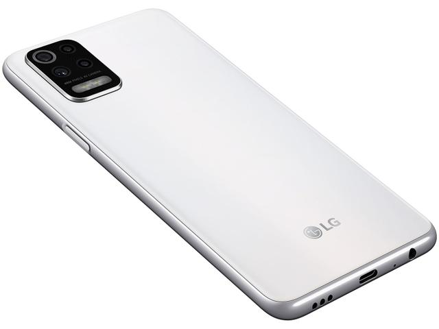 Imagem de Smartphone LG K62+ 128GB Branco 4G Octa-Core