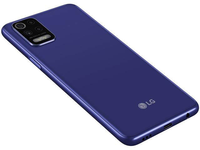 Imagem de Smartphone LG K62 64GB Azul 4G Octa-Core 4GB RAM