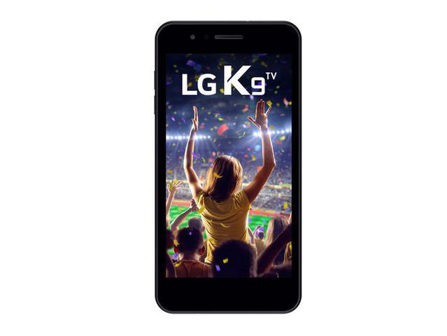Imagem de Smartphone Lg K9, Android 7.0,Dual Chip, Processador Quad core 1.3 GHz, Câmera Principal 8MP Preto