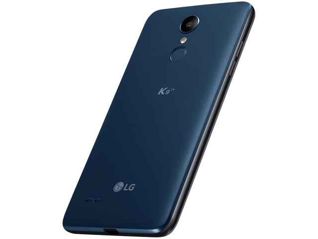 "Imagem de Smartphone LG K9 TV 16GB Azul 4G Quad Core - 2GB RAM Tela 5"" Câm. 8MP + Câm. Selfie 5MP"
