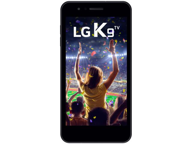 "Imagem de Smartphone LG K9 TV 16GB Azul 4G Quad Core 2GB RAM Tela 5"" Câm. 8MP + Câm. Selfie 5MP"