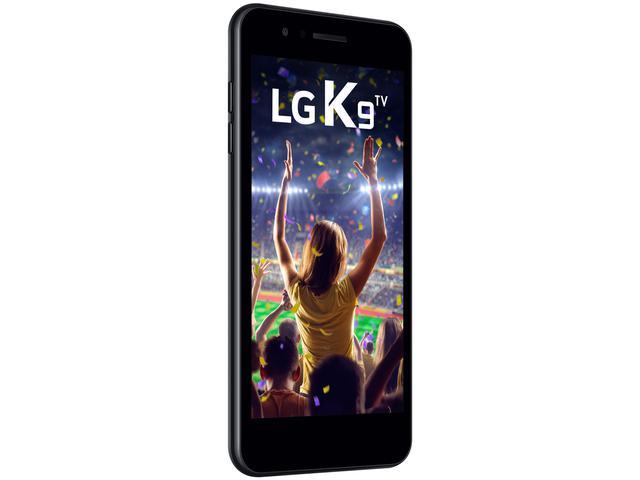"""Imagem de Smartphone LG K9 TV 16GB Preto 4G Quad Core - 2GB RAM Tela 5"""" Câm. 8MP + Câm. Selfie 5MP"""