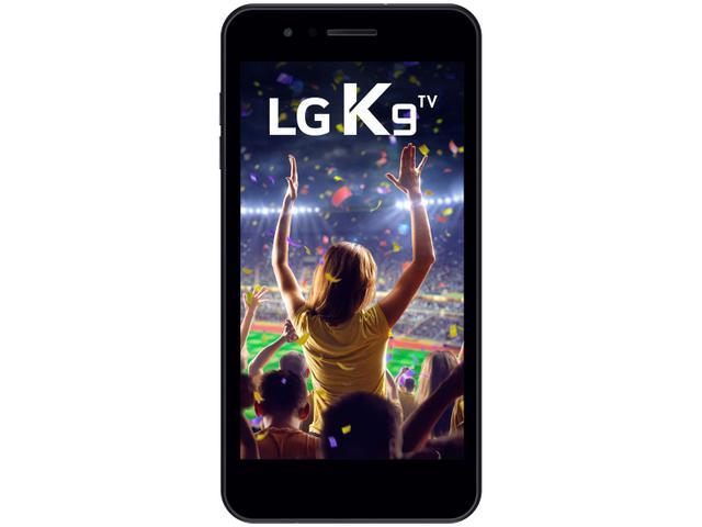 Imagem de Smartphone LG K9 TV 16GB Preto 4G Quad Core