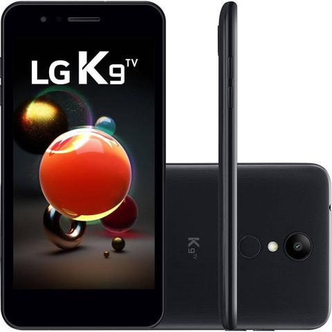 Imagem de Smartphone LG K9 TV 16GB  Tela 5 4G Câmera 8MP Quad Core 1.3 Ghz  - Preto