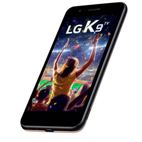 Imagem de Smartphone LG K9 TV, Dourado, LMX210, Tela de 5