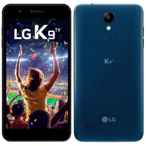 Imagem de Smartphone LG K9 TV, Dual Chip, Azul, Tela 5