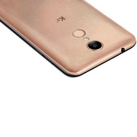 Imagem de Smartphone LG K9 X210 TV, Quad Core, Android 7.0, Tela 5, 16GB, 8MP, 4G, Dual ChiP - Dourado