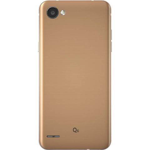 Imagem de Smartphone LG Q6 32GB Dual Chip 4G Tela 5.5 Full Hd+ Octacore Câmera 13MP - Rose Gold + Cartão SD 16GB