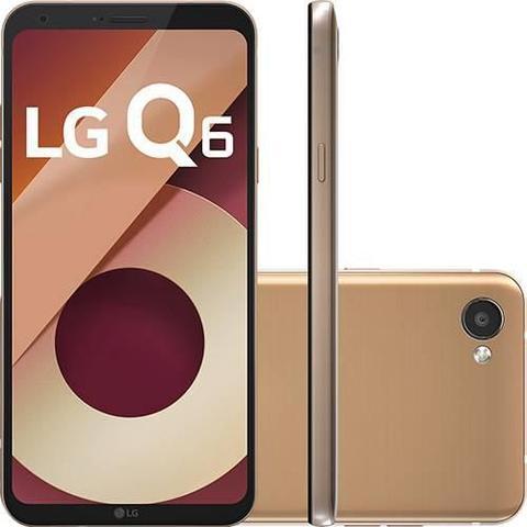 Imagem de Smartphone LG Q6 32GB Dual Chip 4G Tela 5.5 Full Hd+ Octacore Câmera 13MP - Rose Gold