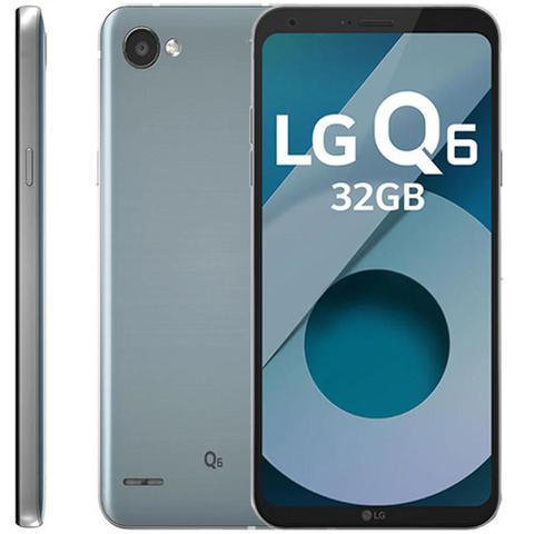 Celular Smartphone LG Q6 M700tv 32gb Prata - Dual Chip