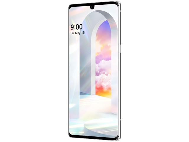 Imagem de Smartphone LG Velvet 128GB Aurora White Octa-Core