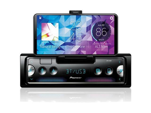 Imagem de Smartphone Media Receiver Pioneer SPH-C10BT Bluetooth GPS 3 Saídas RCA Android IOS USB MP3 Rádio