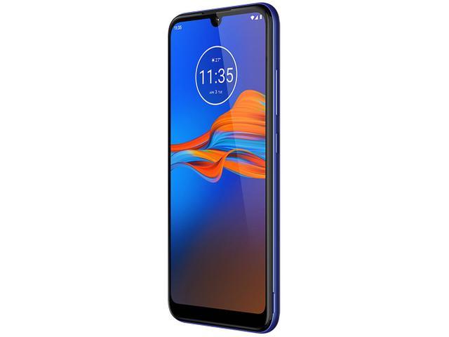 Imagem de Smartphone Motorola E6 Plus 64GB Azul 4G 4GB RAM