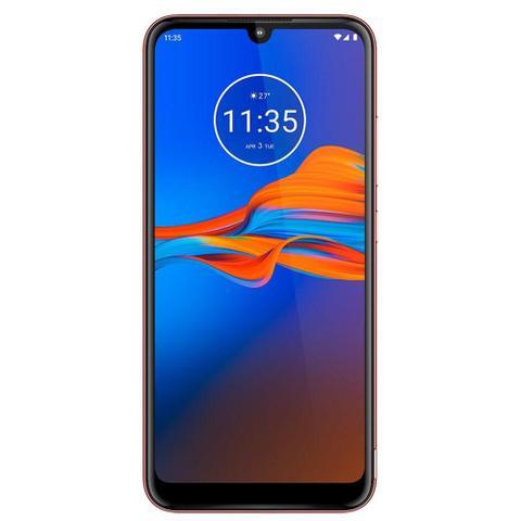 Imagem de Smartphone Motorola E6 plus, Dual Chip, Vermelho , Tela 6,1