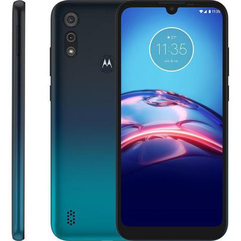 Celular Smartphone Motorola Moto E6s Xt2053 64gb Azul - Dual Chip