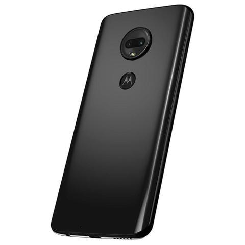 """Imagem de Smartphone Motorola G7 64GB Ônix 4G - 4GB RAM Tela 6,24"""" Câm. Dupla + Câm. Selfie 8MP"""