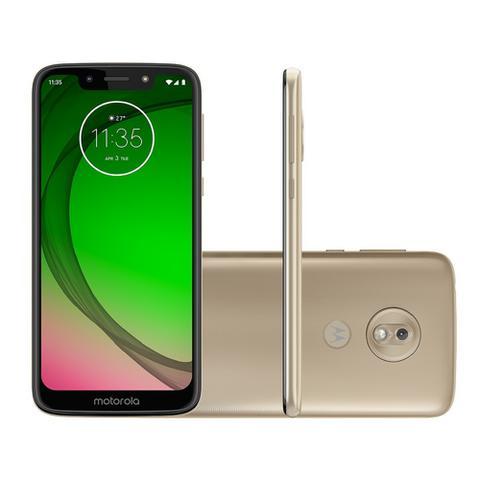 Imagem de Smartphone Motorola G7 Play 32GB 4G 2GB RAM Tela 5,7 Câm. 13MP + Câm. Selfie 8MP - Dourado
