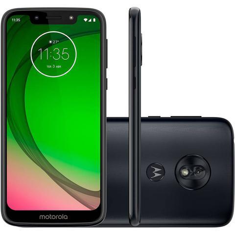 Imagem de Smartphone Motorola G7 Play 32GB 4G 2GB RAM Tela 5,7 Câm. 13MP + Câm. Selfie 8MP - Índigo