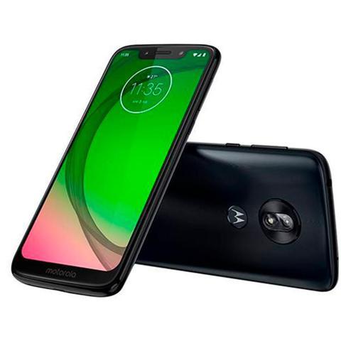 Imagem de Smartphone Motorola G7 Play, Índigo, XT1952, Tela de 5.7