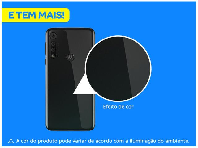 Imagem de Smartphone Motorola G8 Play 32GB Preto Ônix 4G