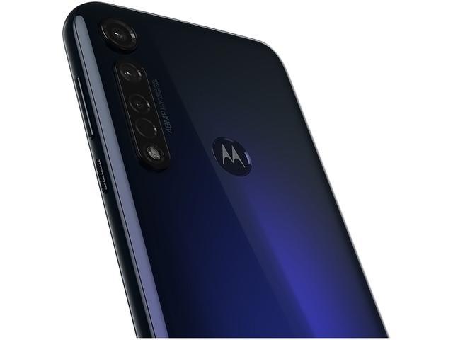 Imagem de Smartphone Motorola G8 Plus 64GB Azul Safira 4G